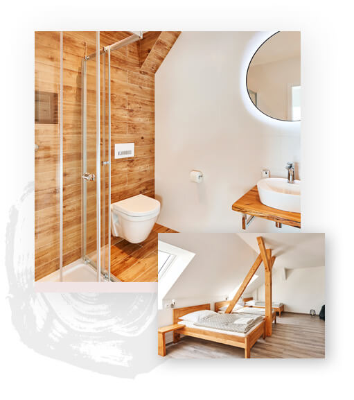Resort Cedrus - Deluxe pokoje